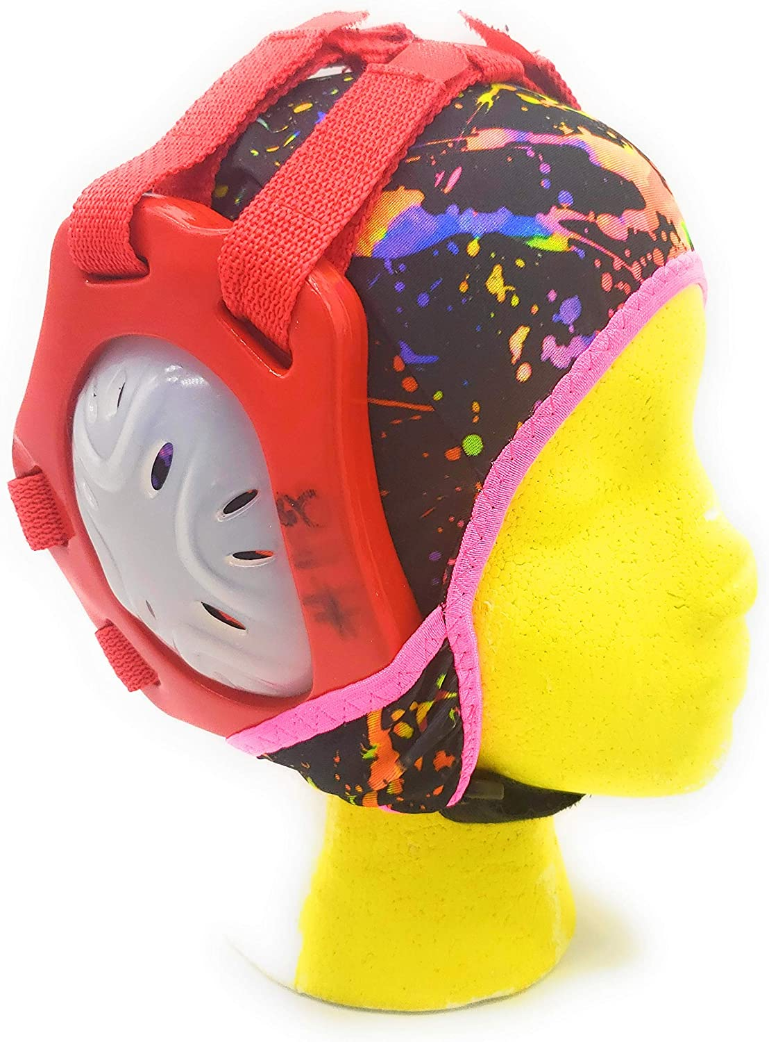 Wrestling Hair Cap - Under The Headgear Style - Paint Splatter