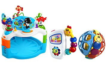 5922150a8 Amazon.com   Baby Einstein Rhythm of The Reef Activity Saucer with ...