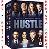 Hustle - Complete Series 1-8 Collection [NON-U.S.A. FORMAT: PAL + REGION 2 + U.K. IMPORT] (BBC) (Season 1/2/3/4/5/6/7/8)