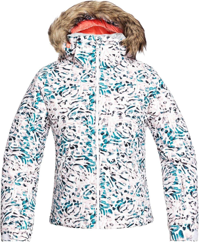 Roxy Jet Ski - Chaqueta Para Nieve Para Niñas 8-16 Chaqueta Para Nieve Niñas