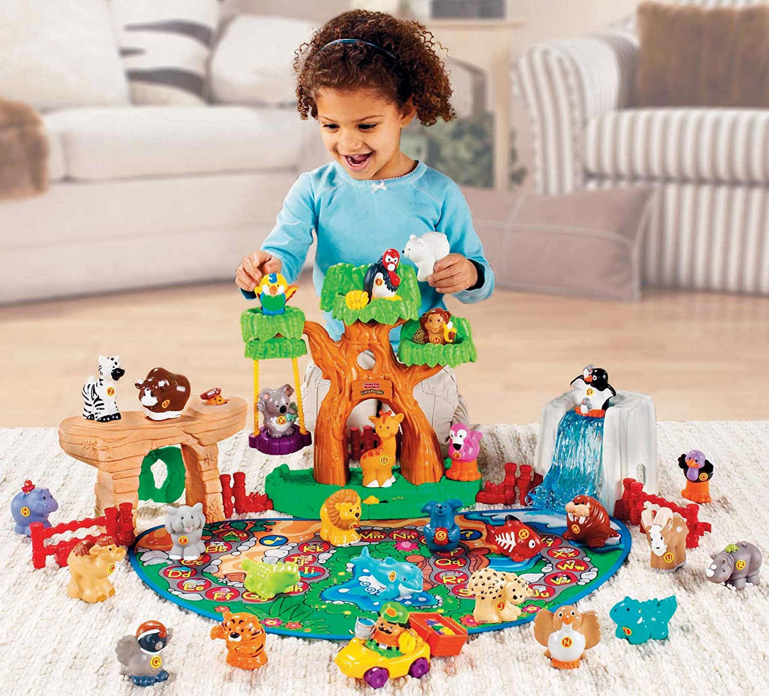 Amazon Little People A To Z Learning Zoo Playset Toys & Games