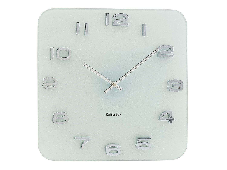 Karlsson KA4399 Orologio da Muro, Vintage, Bianco BOX32 Design