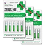 Sting-Kill First Aid Anesthetic Swabs, Instant Pain + Itch Relief From Bee Stings and Bug Bites, 5-count (pack of 3)