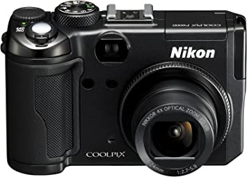 Nikon Coolpix P6000 Digitalkamera 2 7 Zoll Schwarz Kamera