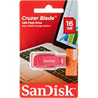 Pen Drive 16GB USB 2.0 Cruzer Blade Rosa - SanDisk