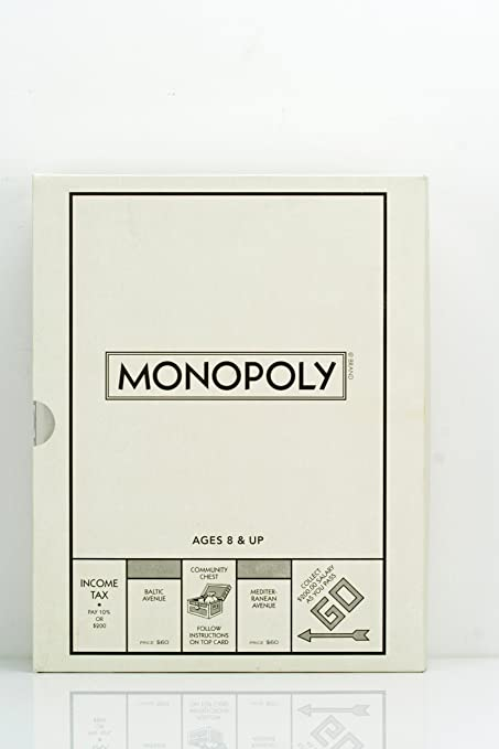 Monopoly Bookshelf Classic Collectors Edition