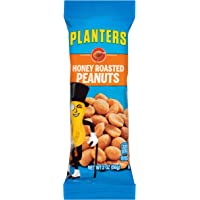 Planters Honey Roasted Peanuts (2oz Bags, Pack of 144)