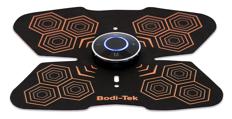 one size Black Bodi Tek Unisexs Ab Core Trainer Pro EMS Muscle Toner