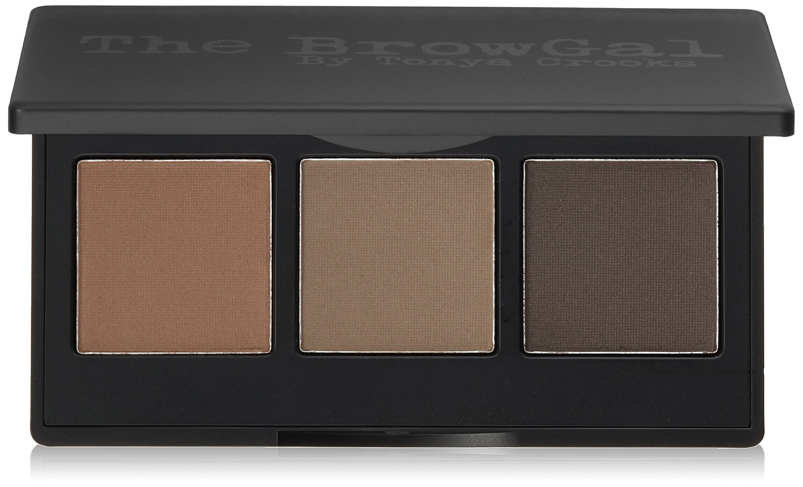 The BrowGal Convertible Brow Wet For Pomade/Dry For Powder/3 in 1 Full Brow Definition, Medium