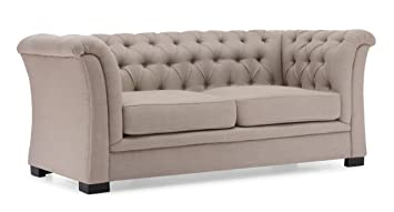 Zuo Modern Nob Hill Sofa, Beige
