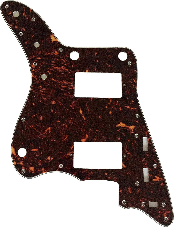 Golpeador de guitarra personalizado para Fender Japan Jazzmaster estilo PAF, Tortuga marrón de 4 capas.