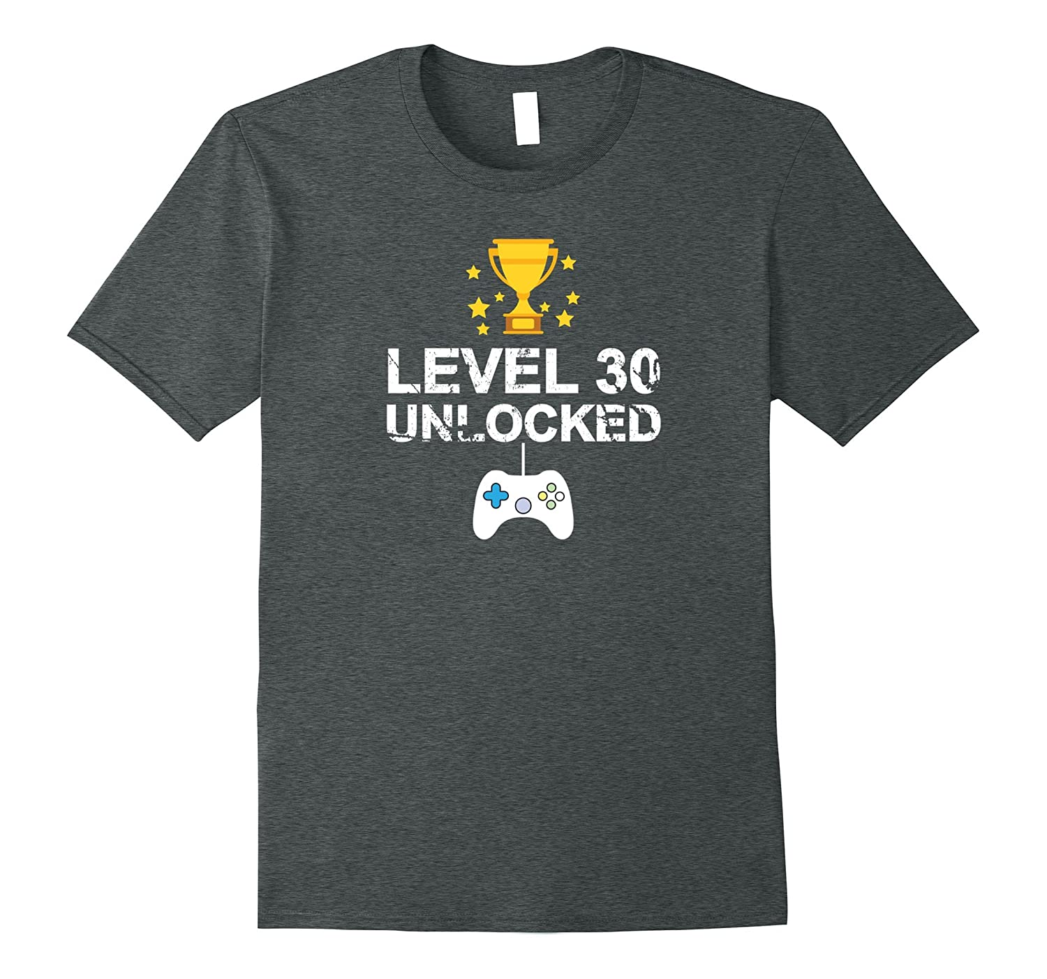 30th Birthday Level 30 Unlocked Funny T-shirt Gift Father-TH
