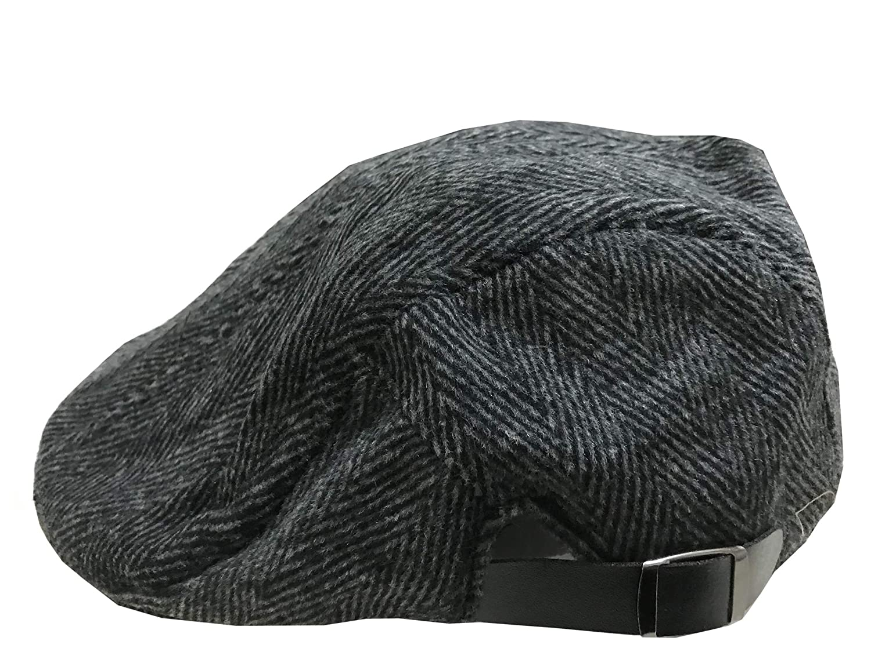 ACVIP Mens Tweed Winter Ivy Hat Casual Flat Cap