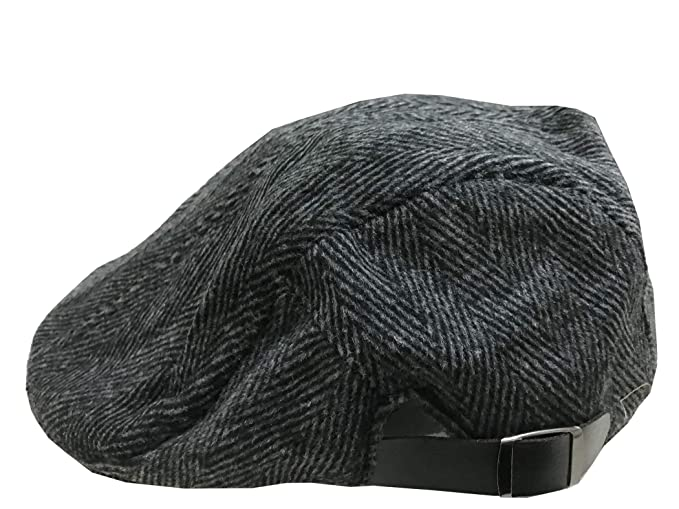 ACVIP Mens Tweed Winter Ivy Hat Casual Flat Cap (Black)  Amazon.ca ... 529c25e2b60c