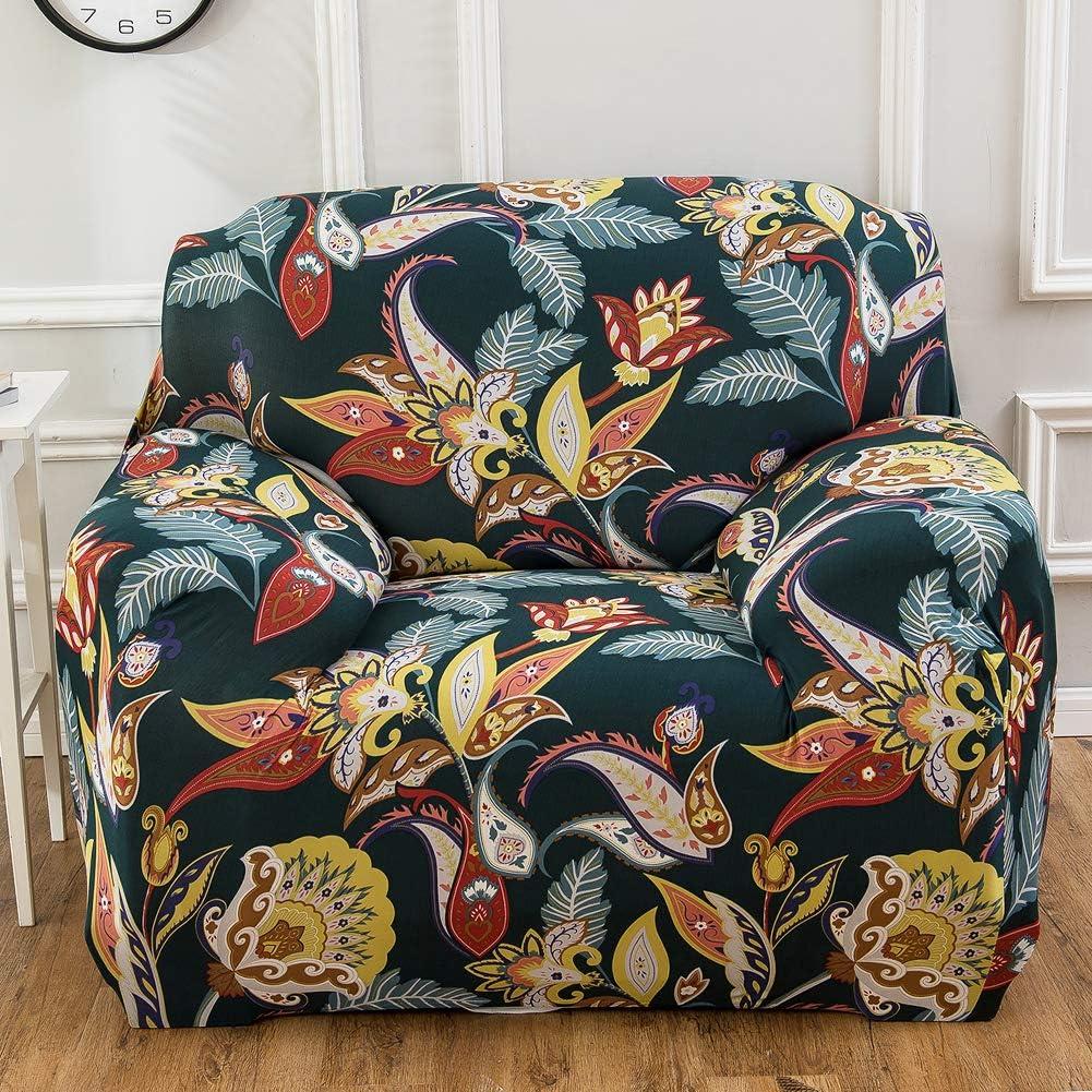 90-130cm 1 Seater Yeahmart Housse de canap/é 1 2 3 Places en Polyester /élasthanne Bird