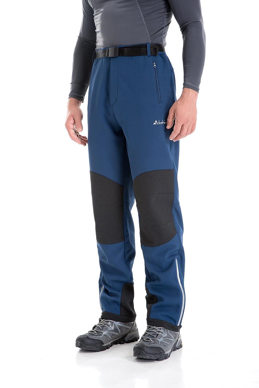 U.mslady Resistente al Viento Pantalones de Invierno con Forro Polar y Forro Polar para Hombre con Aislamiento t/érmico de Nieve