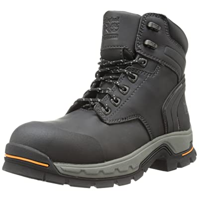 "Timberland PRO Men's 6"" Stockdale GripMax Alloy-Toe Work and Hunt Boot: Shoes"