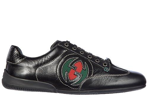Gucci zapatos zapatillas de deporte mujer en piel negro EU 36 270099 ART 101084: Amazon.es: Zapatos y complementos