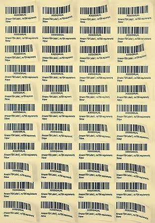 Amazon.com: Lifeforce fácil a pelar Amazon FBA etiqueta ...