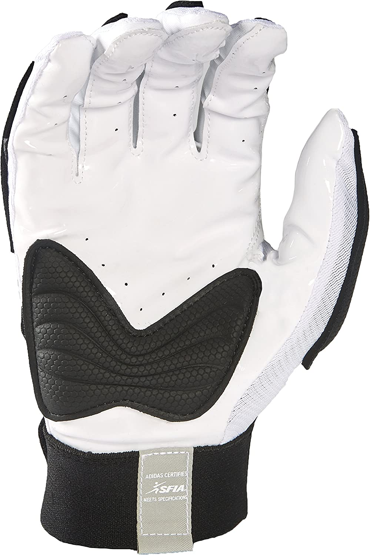 adidas Scorch Destroyer Full Finger Lineman's Gloves : Sports & Outdoors