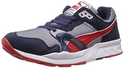 0dd6fa3491f6 Puma Men s Trinomic XT 1 Plus Peacoat-High Risk Red Running Shoes - 8 UK