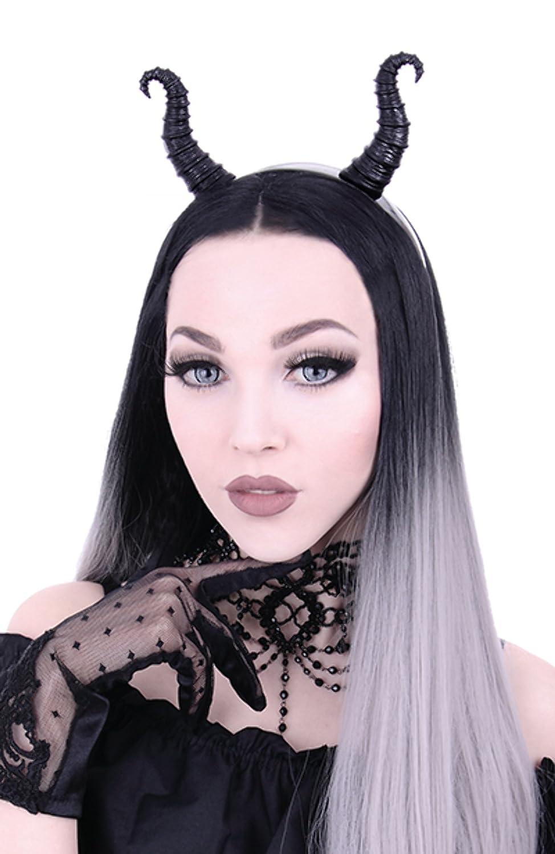 Re Style Maleficent Headband Black