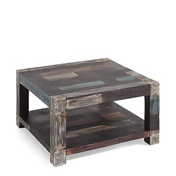Wolf Möbel Couchtisch Goa Braun Amazonde Küche Haushalt
