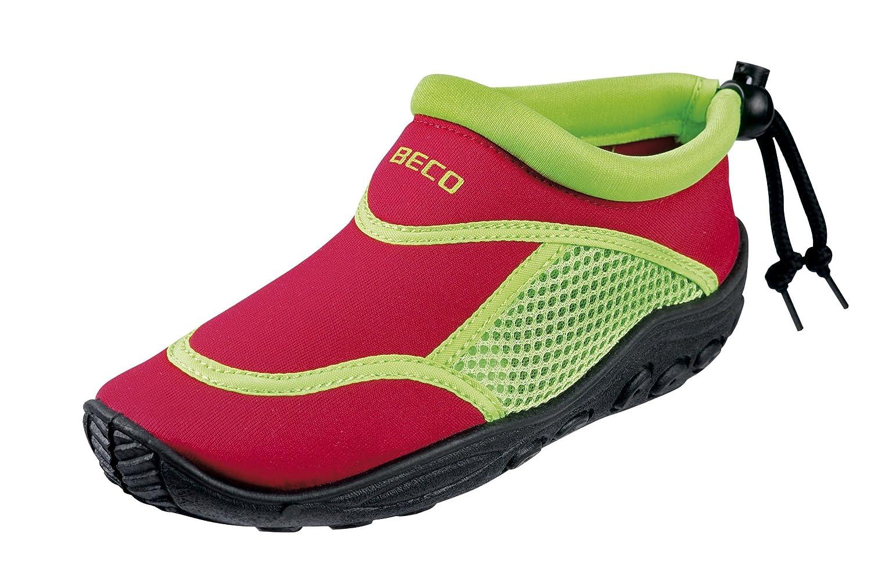 Beco Enfants Surf et Chaussures de Bain 92171Multicolore (Rouge/Vert) 921716-1