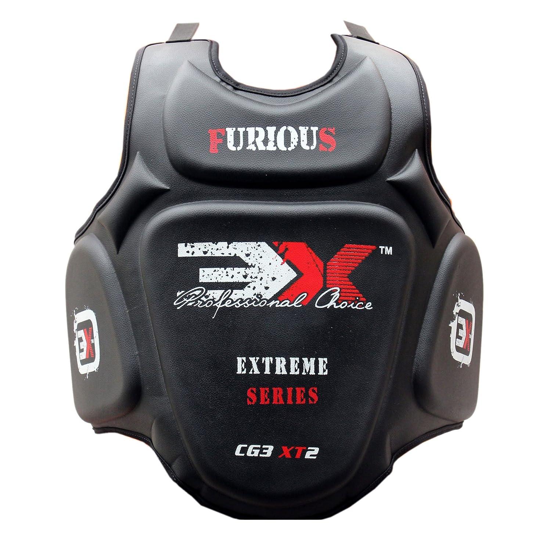 3 X BODY ARMOUR-PROTEZIONE PER IL PETTO, PER ARTI MARZIALI, KICK BOXE, THAI MUAI GEAR 3x Professional Choice 3X-04-03-02