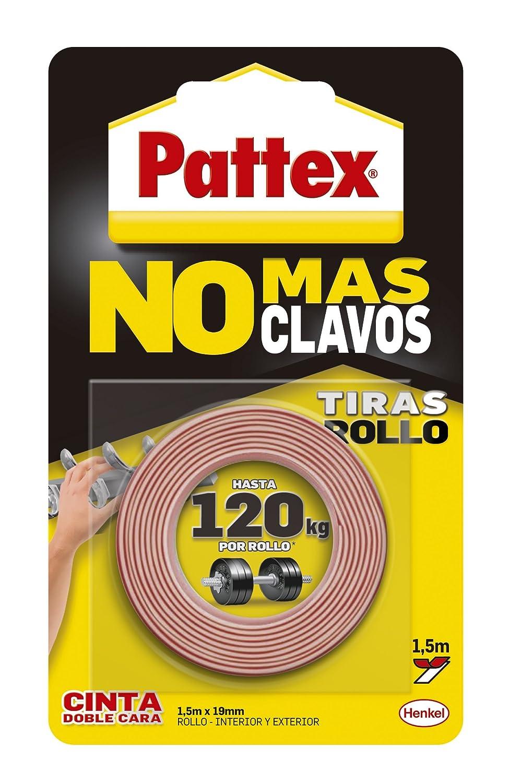 Pattex 1403701 No M S Clavos Cinta Doble Cara Rollo Amazon Es  ~ Colgar Cuadros Sin Agujeros Ikea