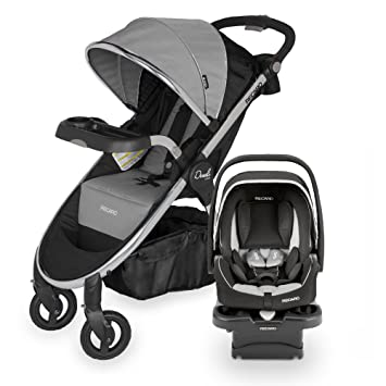 RECARO Performance Denali Luxury Travel System Granite