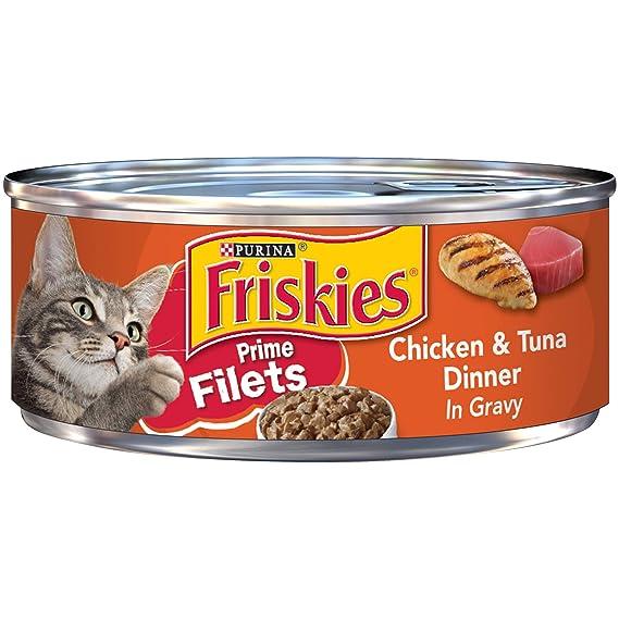 Friskies Prime Filets - Vajilla de pollo y atún en comida de ...