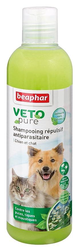 Beaphar - anti-parasite vetopure Champú repelente para perros y gatos - 250 ml: Amazon.es: Productos para mascotas