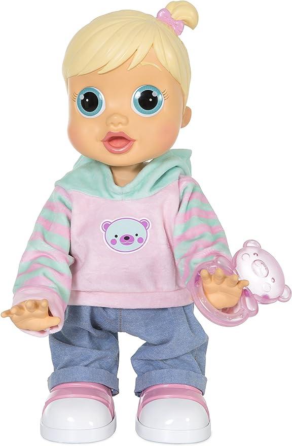 BAMBOLA BABY WOW BABYWOW TEO BAMBOLOTTO BEBE/' INTERATTIVO NEONATO IMC TOYS