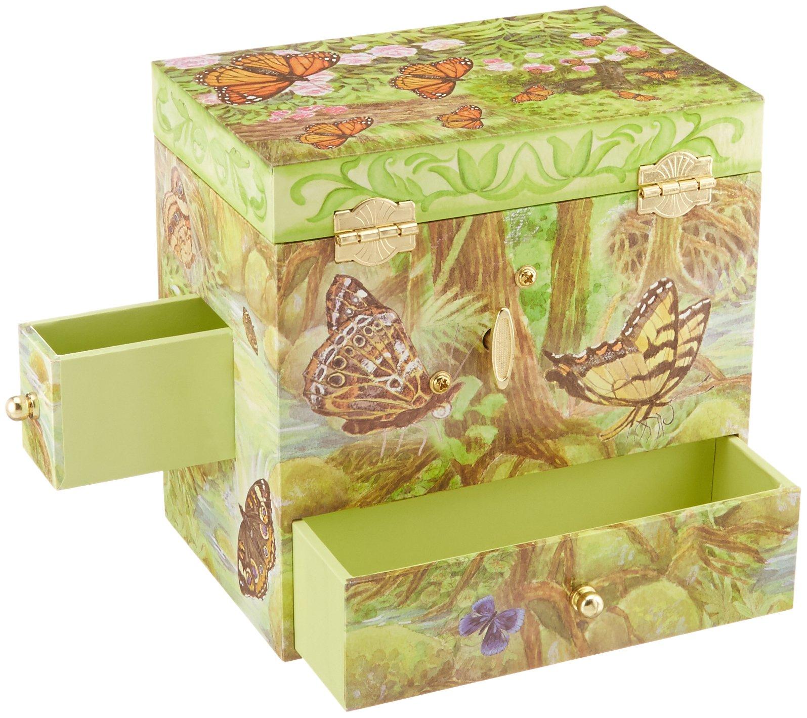 Enchantmints Monarchs Butterfly Music Jewelry Box by Enchantmints (Image #4)
