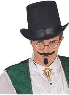 39199dcdfaab7 SODIAL(R) Sombrero negro del mago Sombrero de Halloween Sombrero de ...