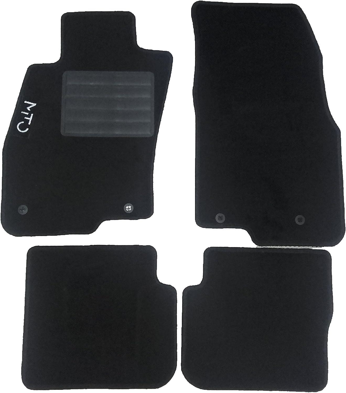 Tapis de sol de voiture sur mesure en/velours aiguillet/é avec 4/points de fixation