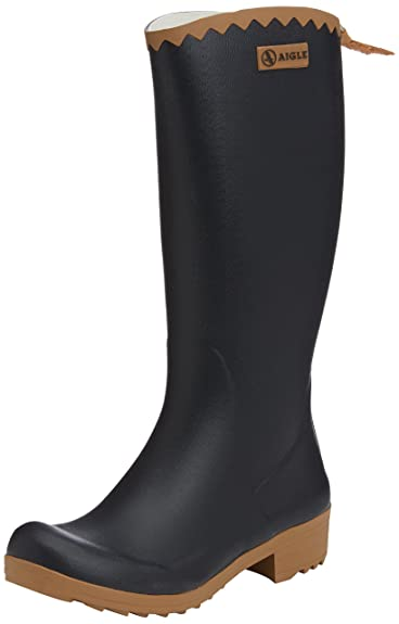 Victorine Gummistiefel, Womens Unlined Rubber Boots, Long Shaft Boots and Bootees Aigle