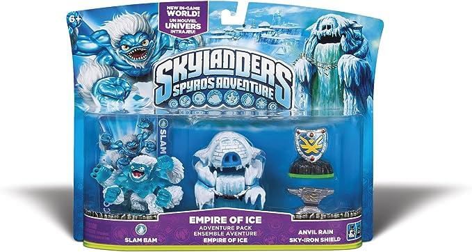 Skylanders Spyros Adventure Adventure Pack Empire of Ice: Amazon.es: Videojuegos