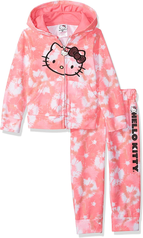 Hello Kitty Girls' 2 Piece Embellished Active Set