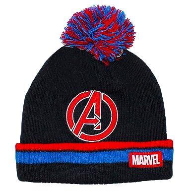 Marvel Official Licensed Adults Mens Avengers Assemble Winter Bobble ... 2709759bf34