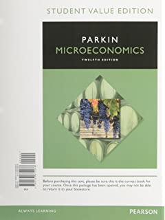 Microeconomics 12th edition pearson series in economics microeconomics student value edition 12th edition fandeluxe Gallery