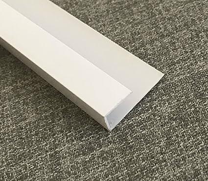 La tienda de revestimiento PVC revestimiento U Trim End Cap esquina 5 mm x 2,