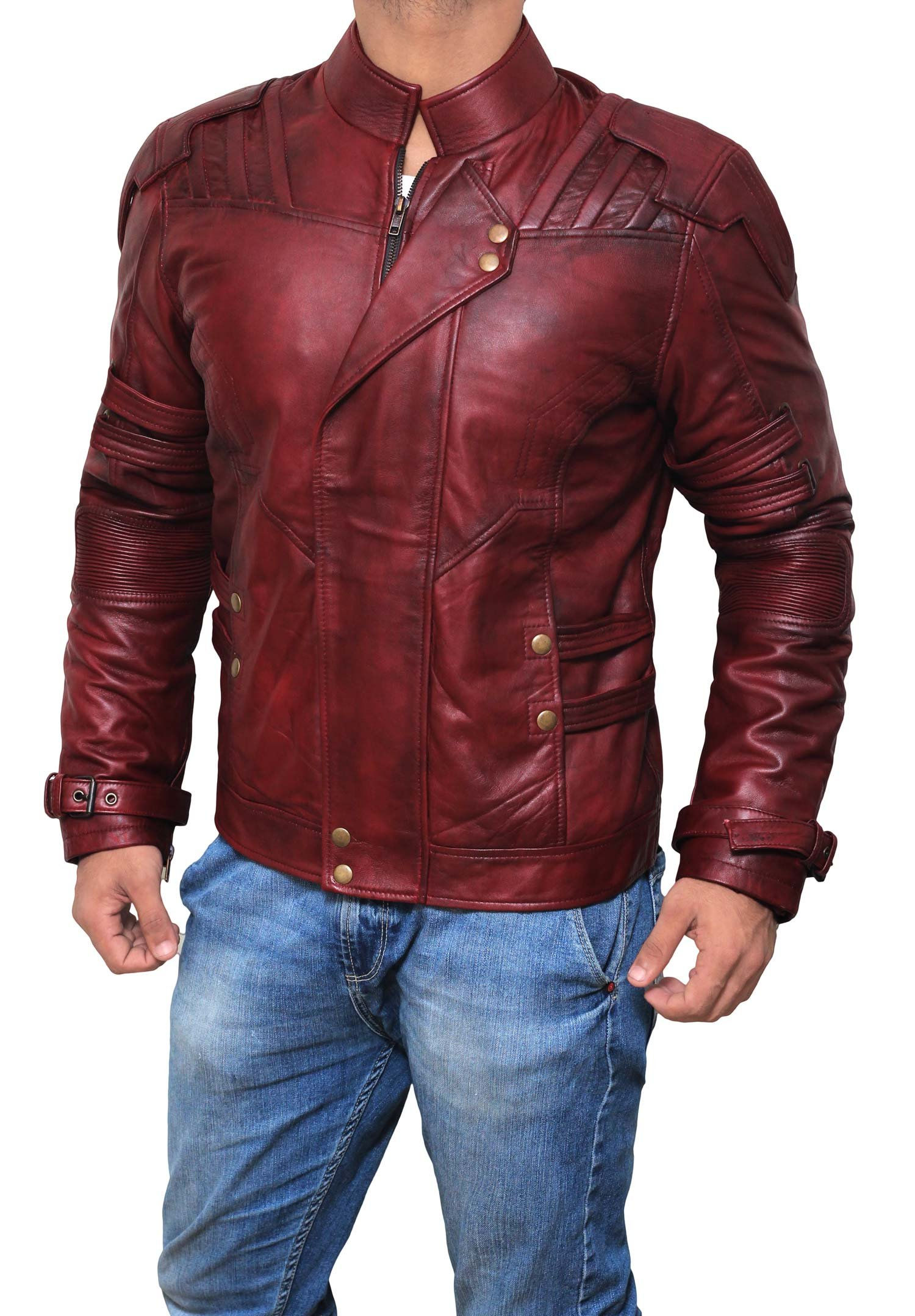 Galaxy Real Leather Jacket ►BEST SELLER◄ M