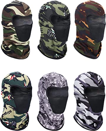 Neck Scarf Protection Mask Breathable Long Neck Cover for Outdoor Sports Balaclava Face Mask for Women and Men