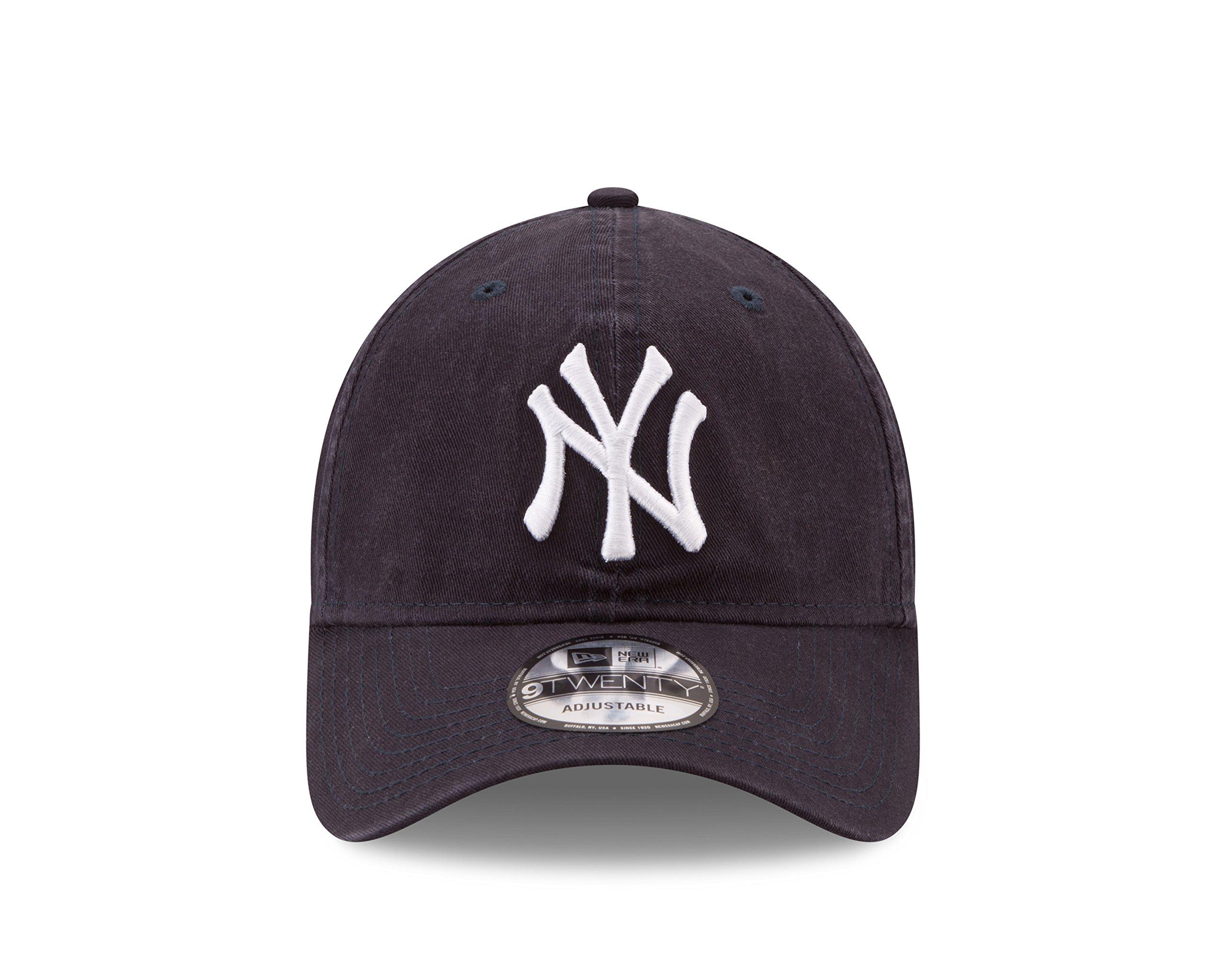 New Era New York Yankees MLB Core Classic 9TWENTY Adjustable Cap Navy by New Era (Image #3)