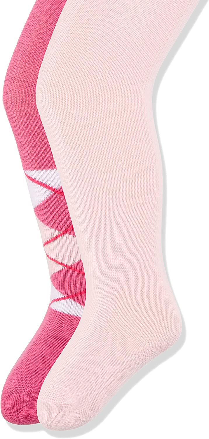TupTam Girls Tights Opaque Colorful Designs Pack of 6