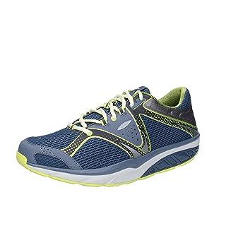MBT Sneakers Hombre Textil (42 EU, Azul oscuro)