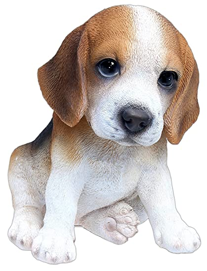 amazon com nature s gallery pet pals statue beagle puppy home