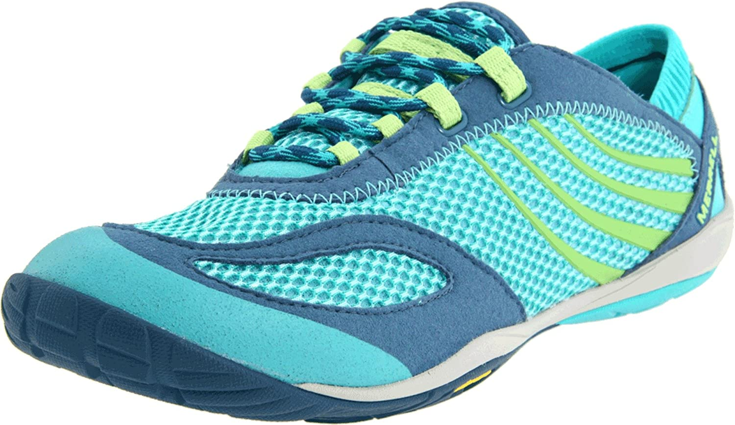 Details about  /Merrell Womens Vapor Glove 4 Barefoot Trail Multicolor Running Shoes Sz 9.5
